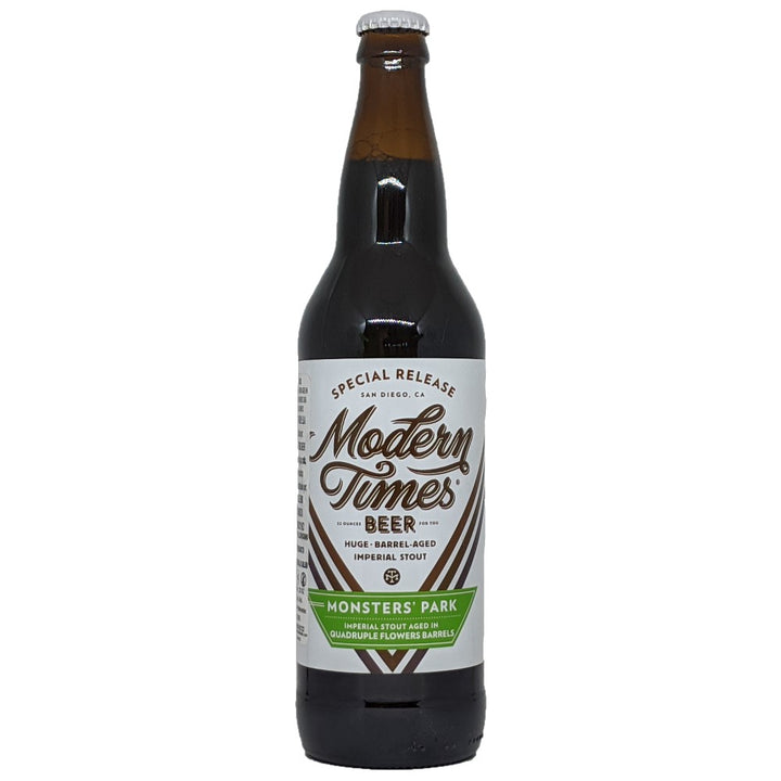 MODERN TIMES MONSTER'S PARK AGED IN QUADRUPLE FLOWERS BARRELS - CebadaMalteada