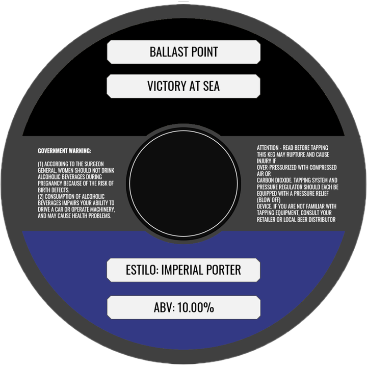 BALLAST POINT VICTORY AT SEA (BARRIL) - CebadaMalteada