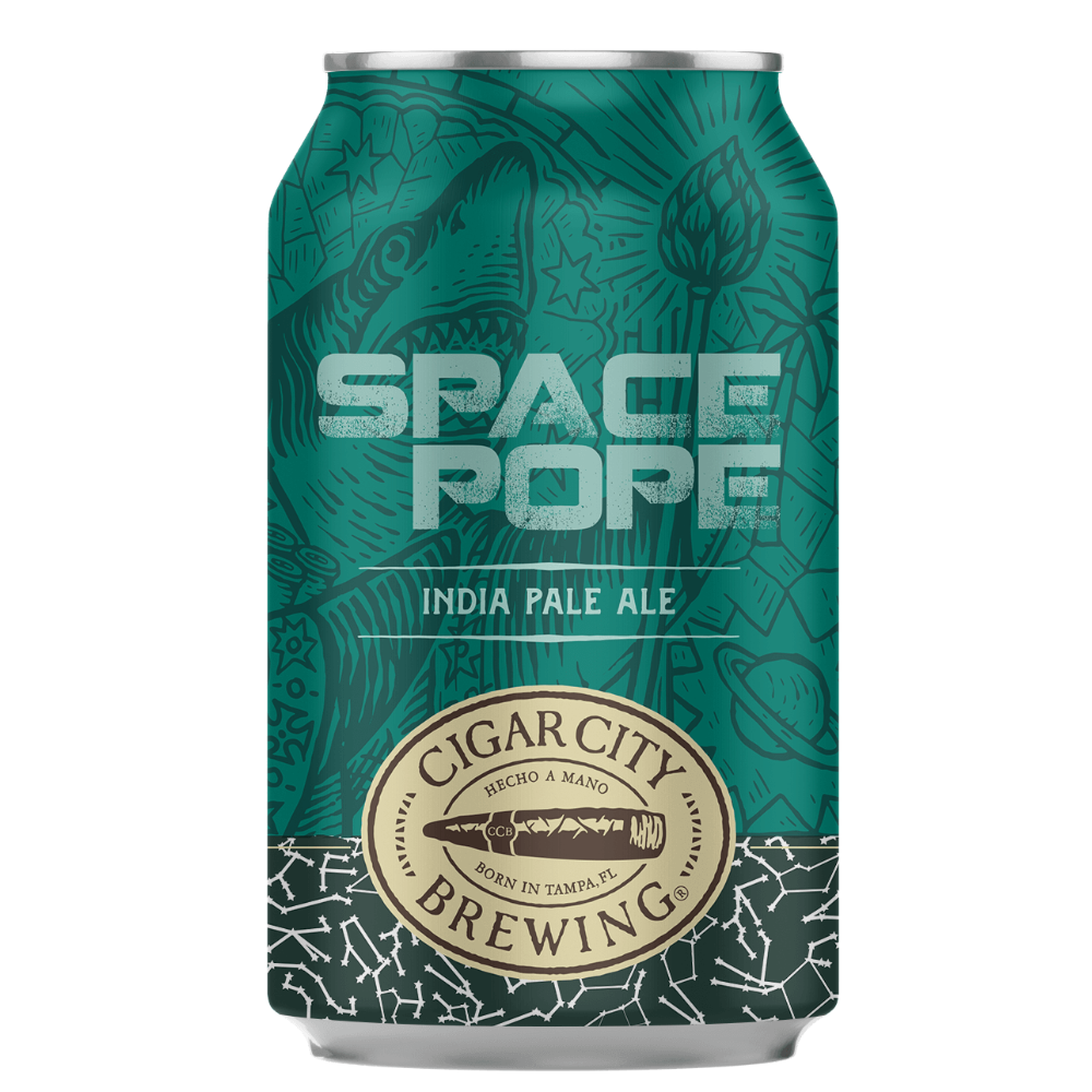 CIGAR CITY SPACE POPE (LATA) - CebadaMalteada