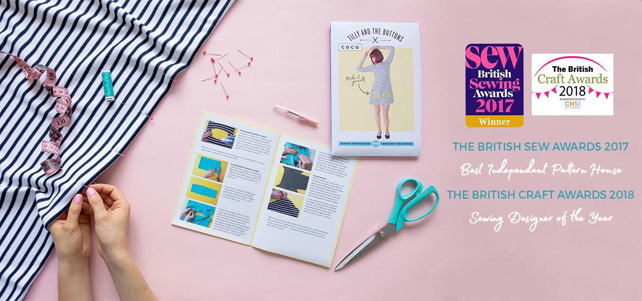 Tilly and the Buttons award winning sewing patterns