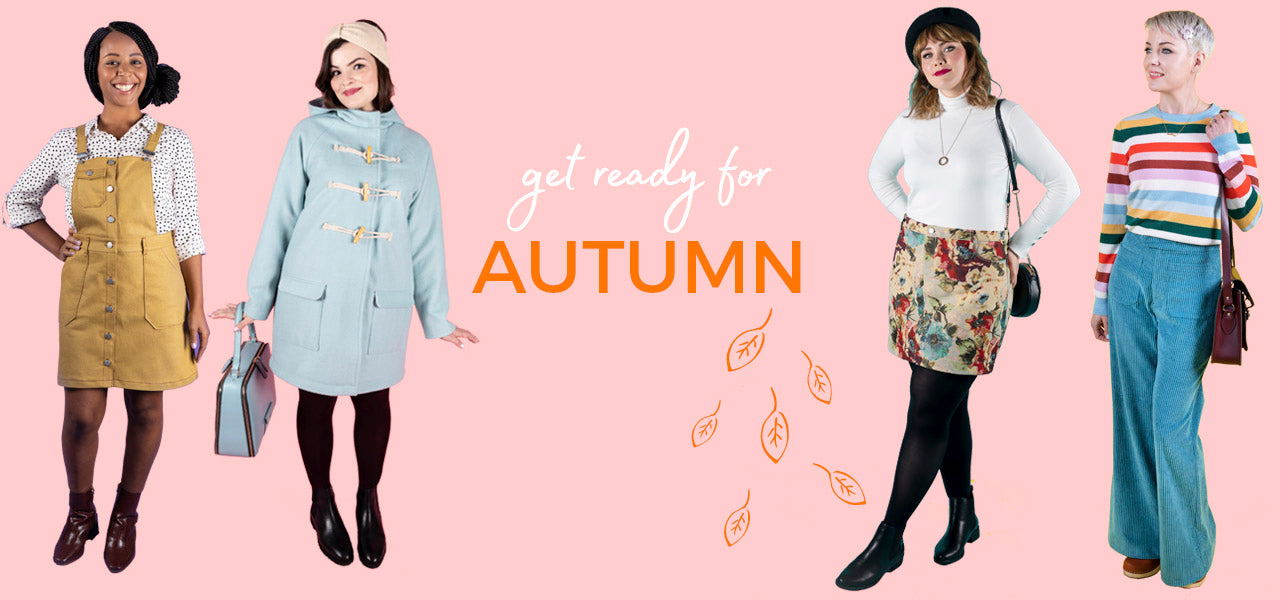 Sew your own autumn wardrobe with our sewing pattern edit