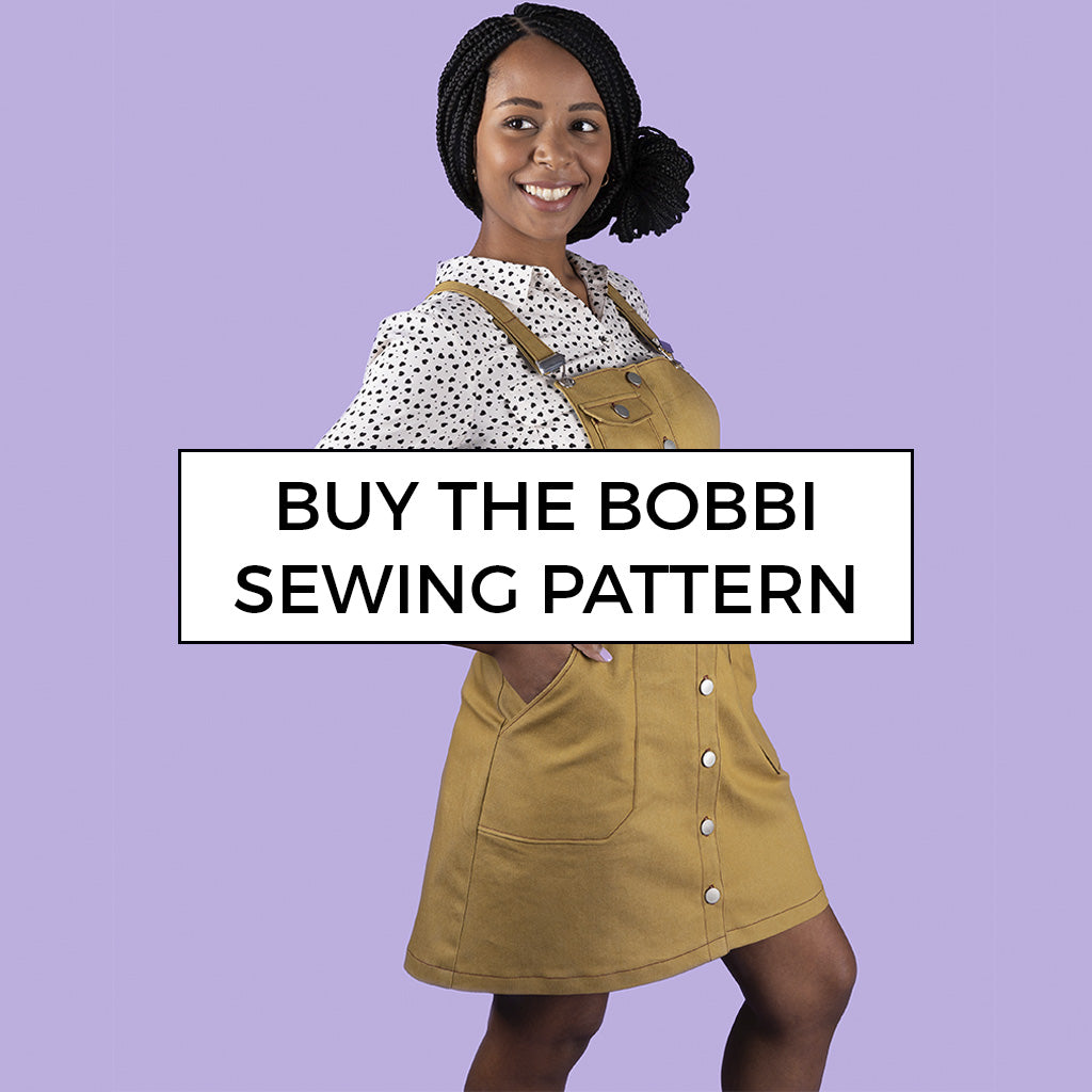 Sew your own on-trend pinafore or skirt - Bobbi by Tilly and the Buttons