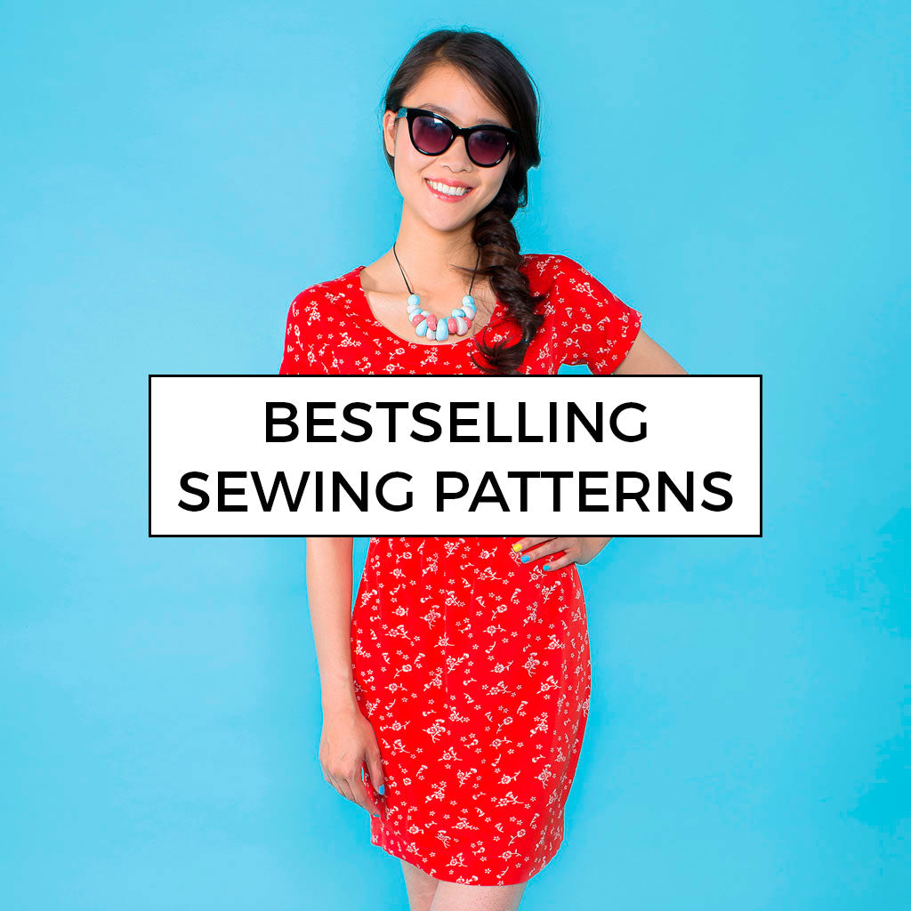 Bestselling sewing patterns by Tilly and the Buttons