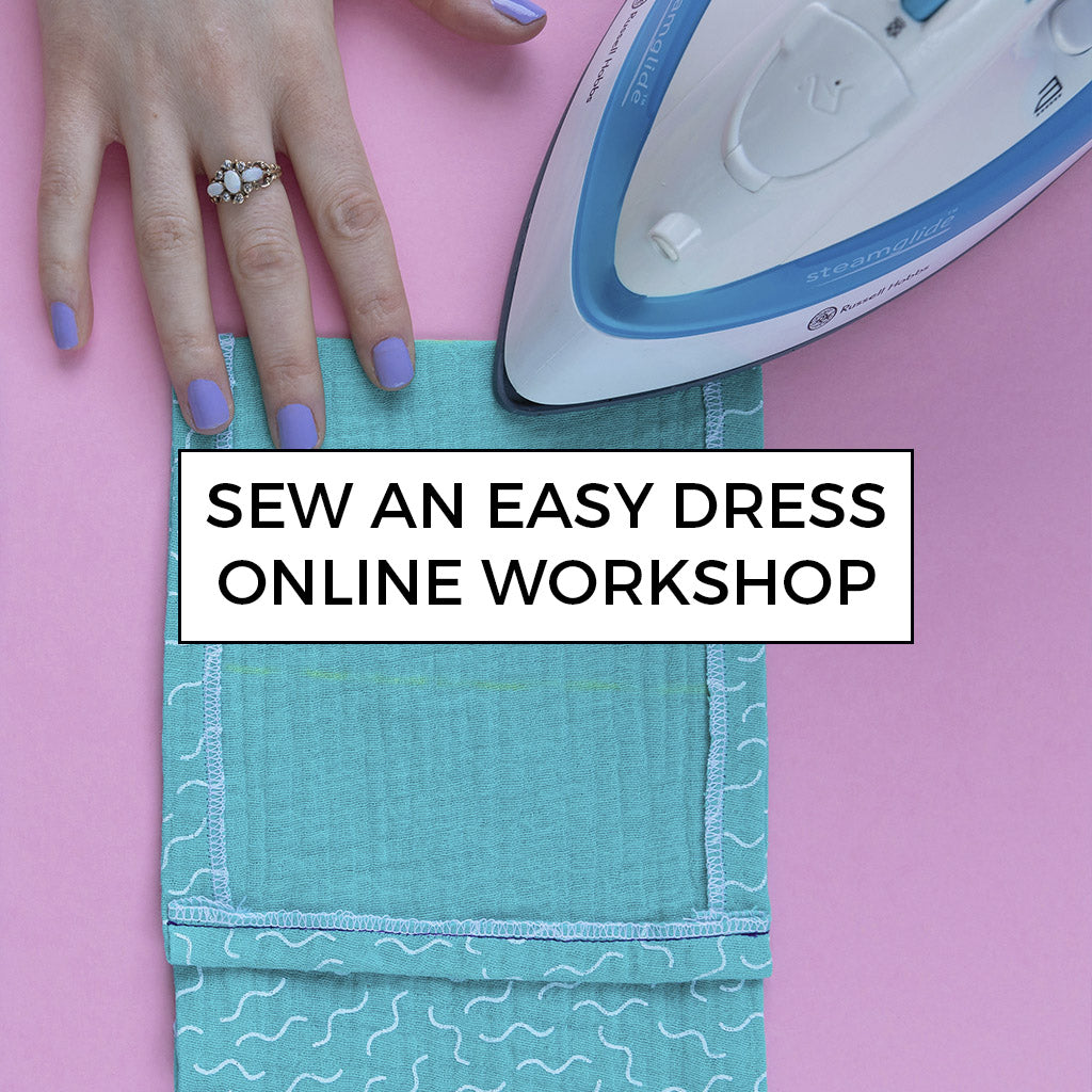 Learn to sew an easy dress with Tilly's online workshop