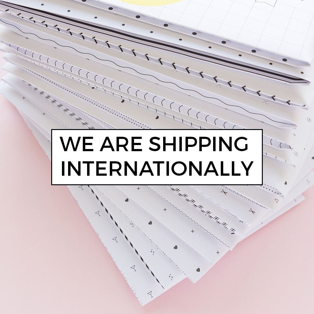 We are shipping internationally - read for more details