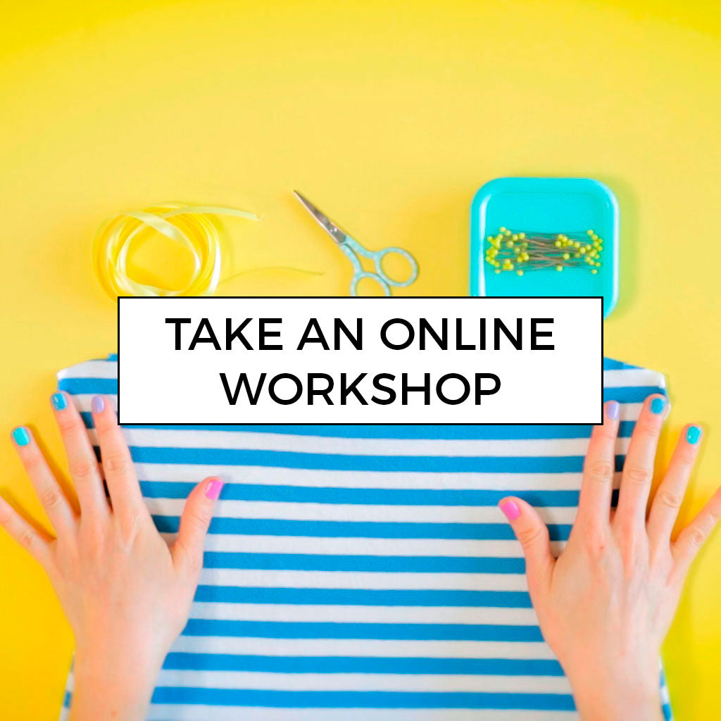 Learn to sew with our online video workshops by Tilly and the Buttons