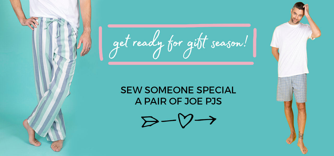 Sew some PJs for someone special with our Joe pyjamas digital sewing pattern