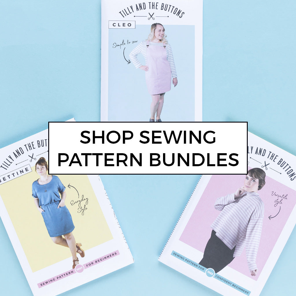 Shop our selection of sewing pattern bundles where you save 20%