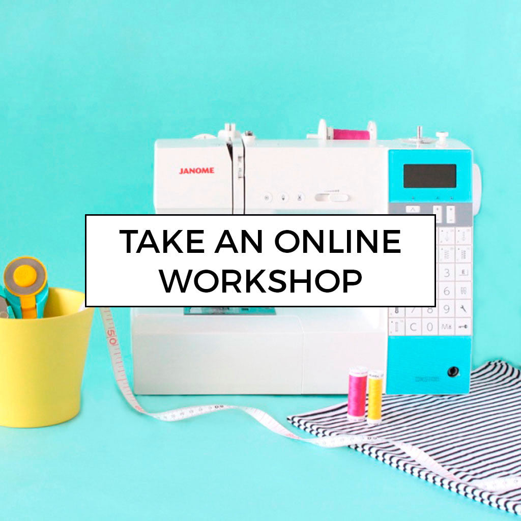Online sewing workshops by Tilly and the Buttons