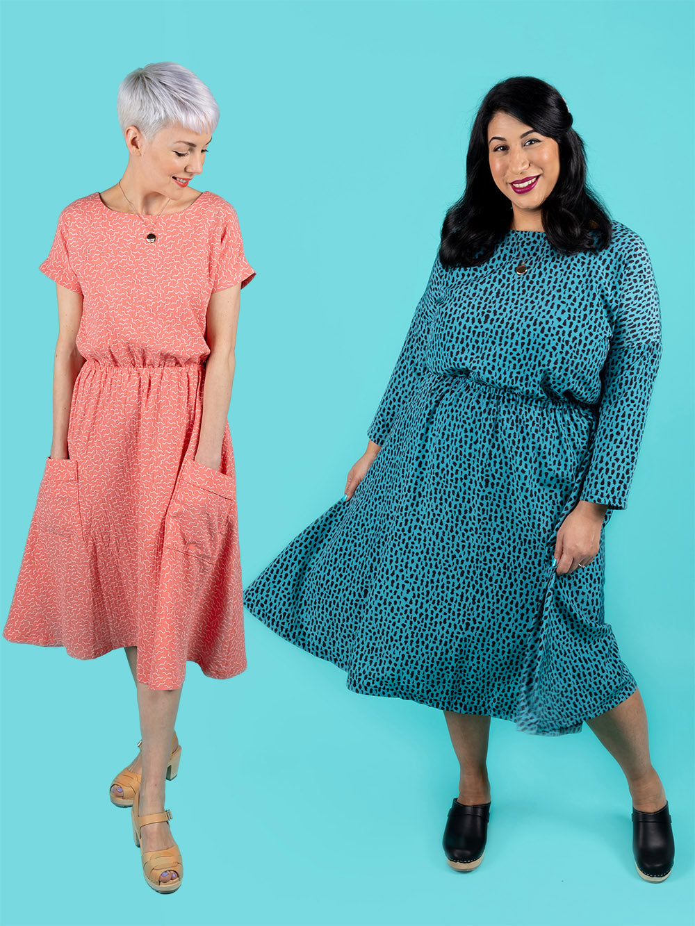 Learn to sew an easy dress with Tilly and the Buttons' online workshop
