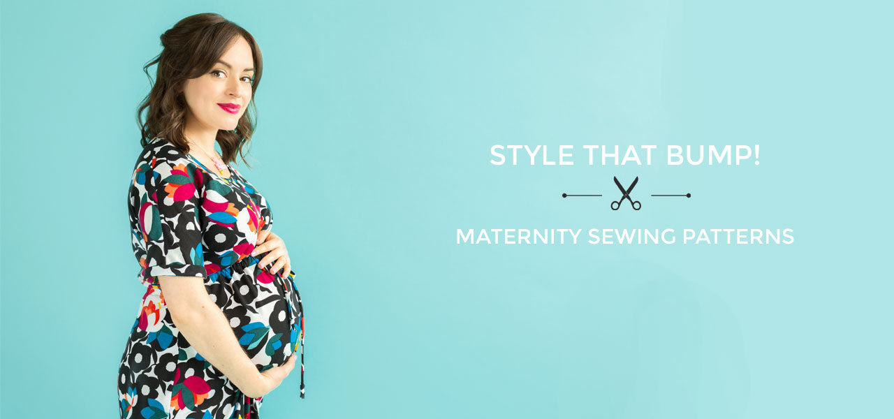 Maternity sewing patterns by Tilly and the Buttons