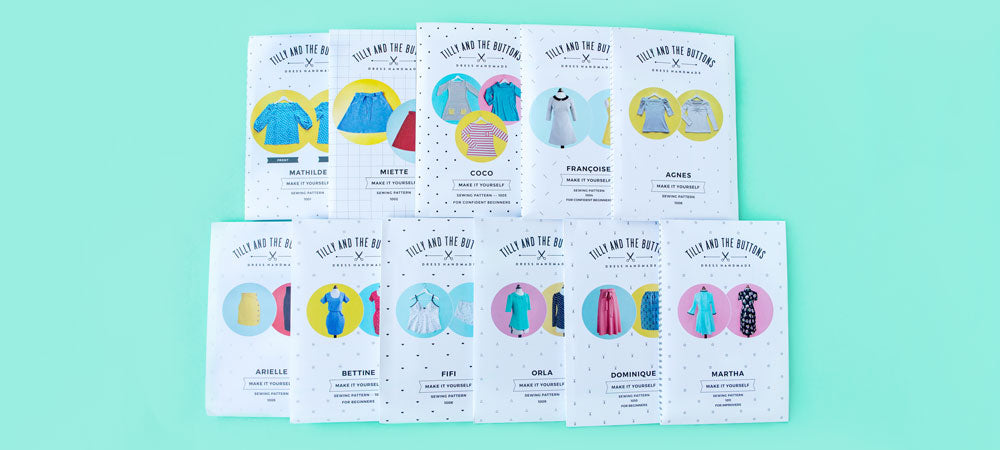 wholesale sewing patterns Tilly and the buttons