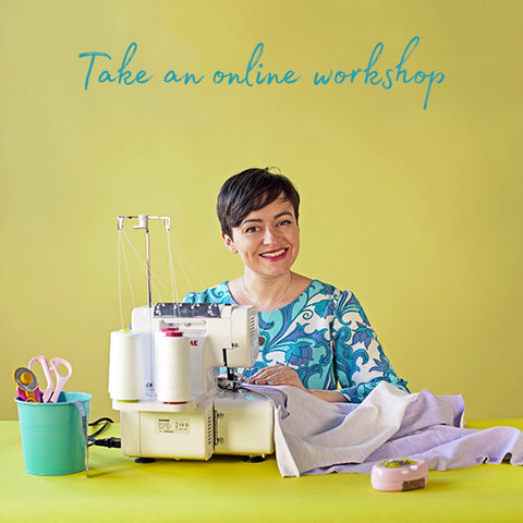 Take an online workshop with Tilly and the Buttons