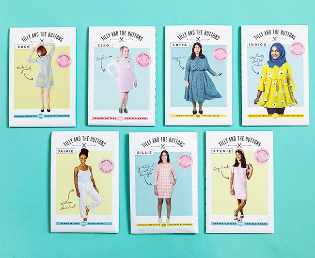 Tilly and the Buttons award-winning sewing patterns