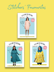 Stitchers' Favourites sewing pattern bundle