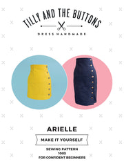 Arielle sewing pattern by Tilly and the Buttons – sew an adorable pencil skirt