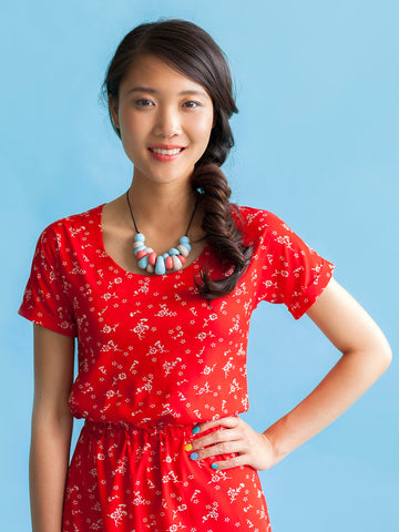 Bettine pattern by Tilly and the Buttons – make an easy-peasy comfortable dress