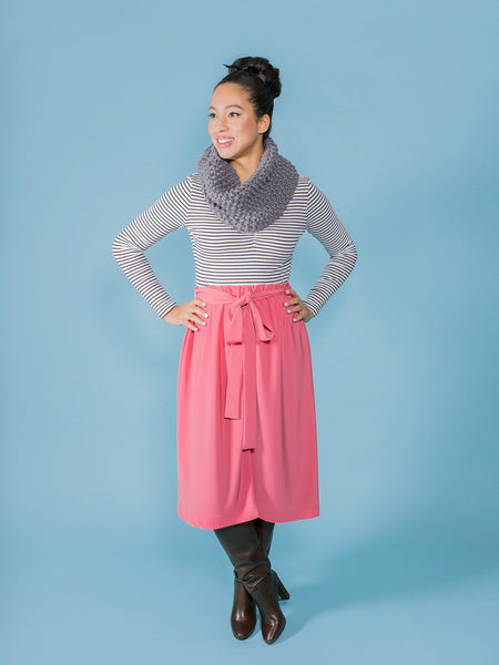 Dominique skirt sewing pattern by Tilly and the Buttons – possibly the easiest pattern in the world!
