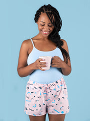 Jaimie pyjama bottoms and shorts UK 4-24 sewing pattern from Tilly and the Buttons