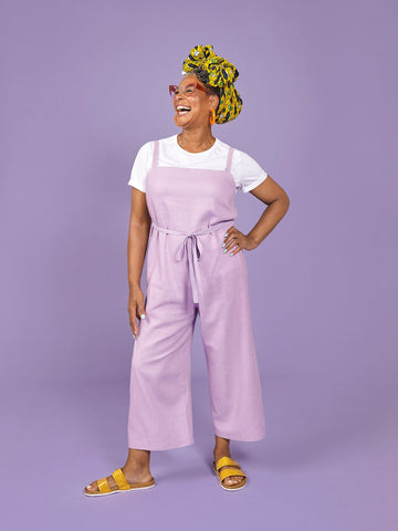 Safiya dungarees - sewing pattern from Make It Simple by Tilly Walnes