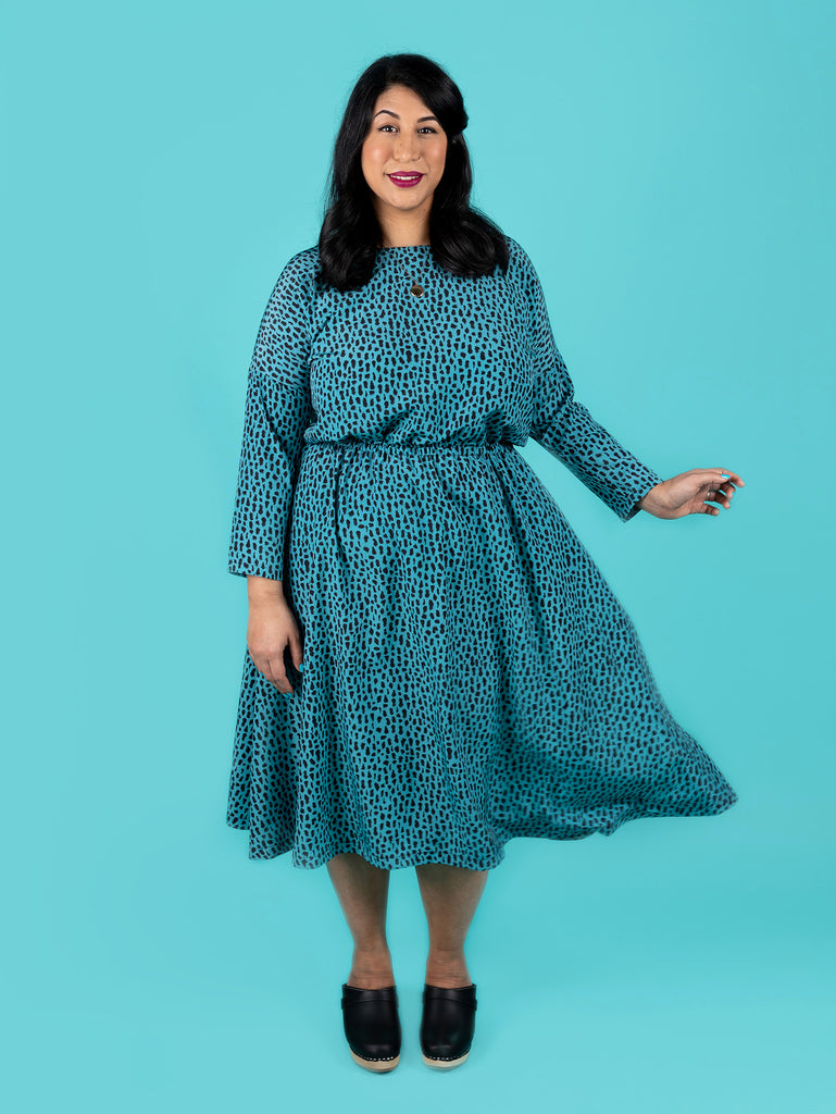 Lotta dress sewing pattern by Tilly and the Buttons