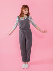 Marigold sewing pattern by Tilly and the Buttons – whip up a stylish jumpsuit or casual peg trousers