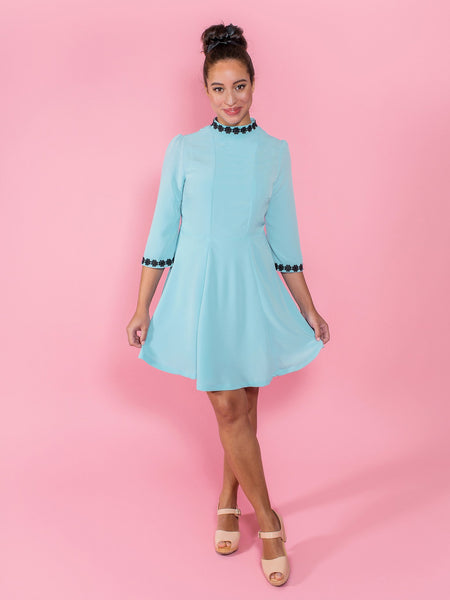 Make your own dress for twirling in - Martha sewing pattern by Tilly and the Buttons