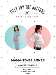 Maternity Agnes sewing pattern - Tilly and the Buttons
