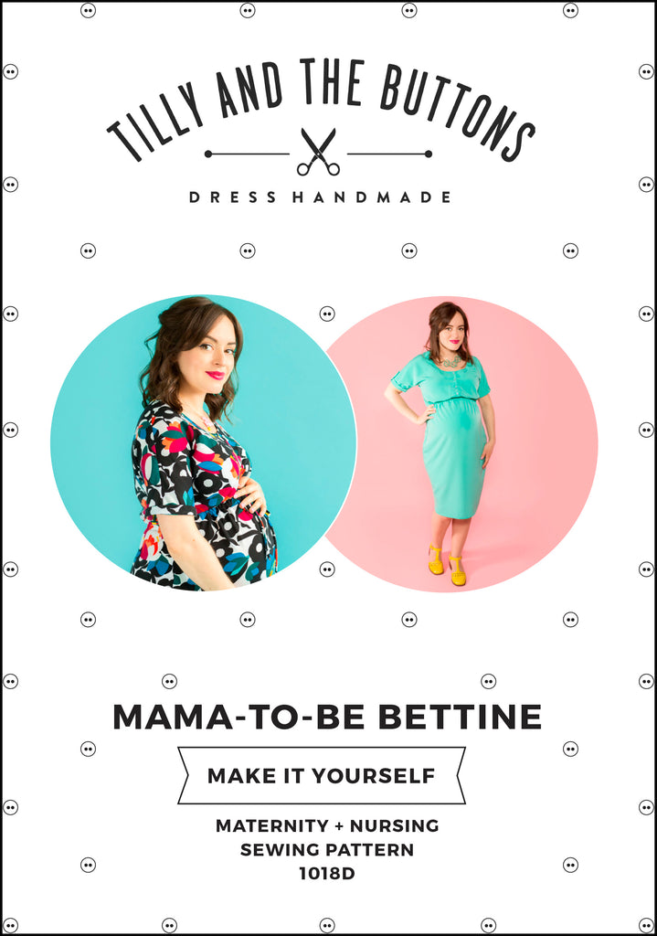 1320e798ee771 ... Maternity and Nursing Bettine sewing pattern - Tilly and the Buttons