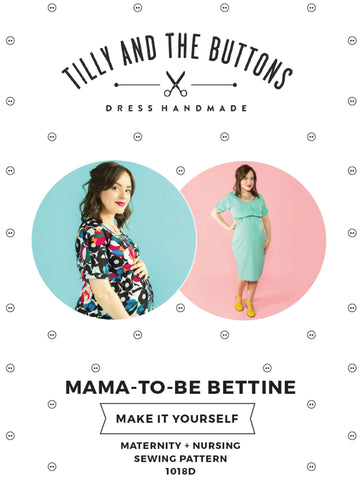 Maternity and nursing Bettine sewing pattern - Tilly and the Buttons