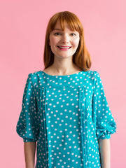 Mathilde pattern by Tilly and the Buttons – sew an elegant button-back blouse