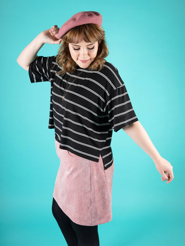 Nora sweater or t-shirt - sewing pattern by Tilly and the Buttons