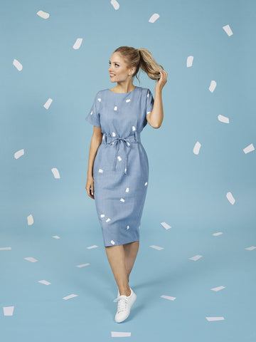 Suki dress - sewing pattern from Make It Simple by Tilly Walnes