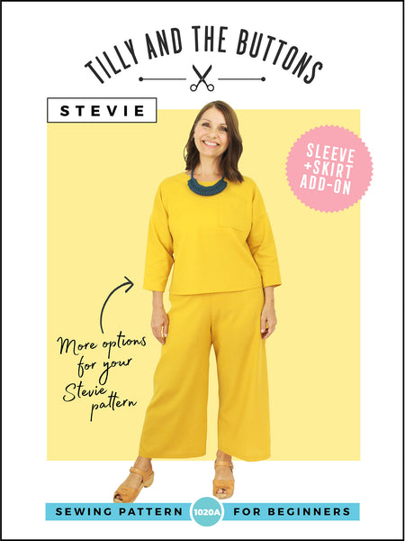 Stevie add-on pattern pack by Tilly and the Buttons