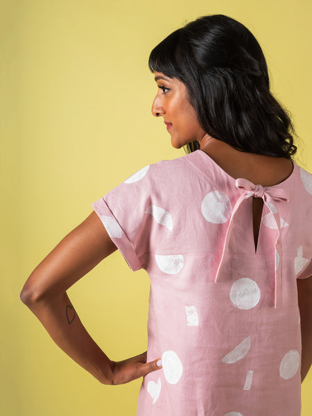 Stevie tunic top and dress - sewing pattern by Tilly and the Buttons