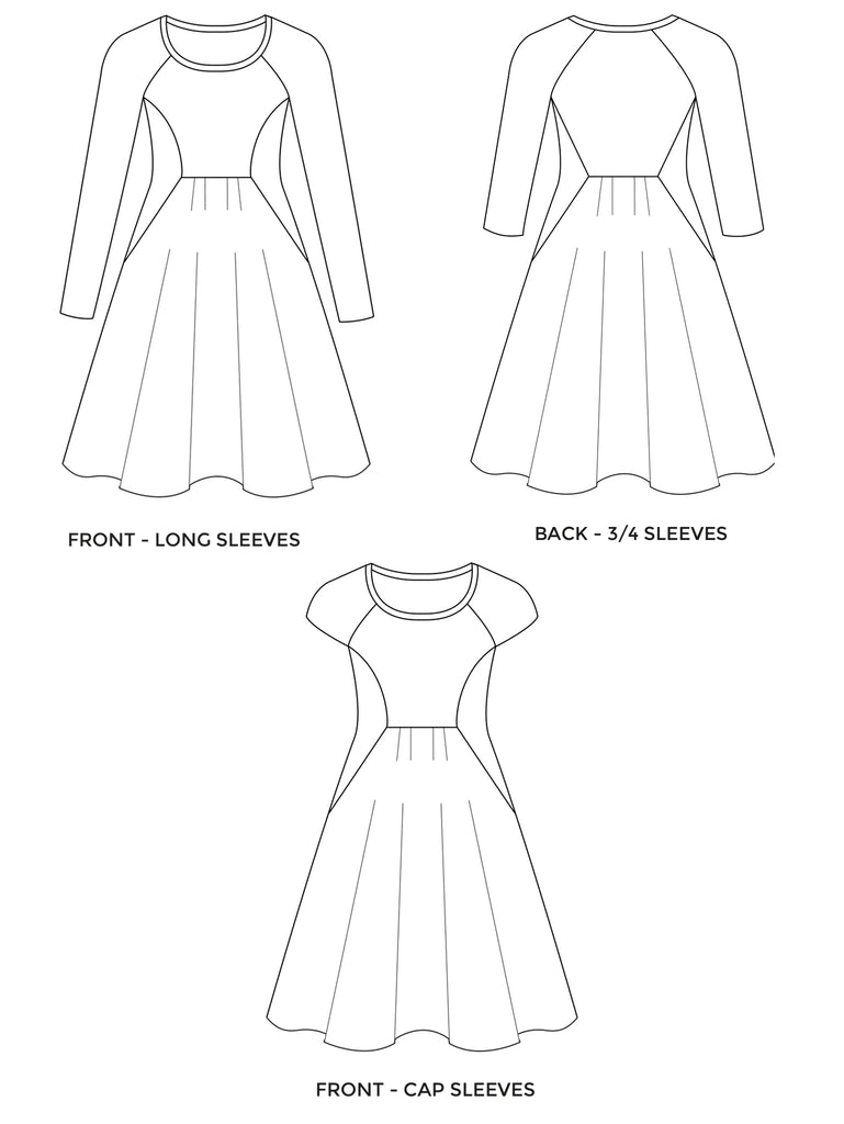 ZADIE DRESS sewing pattern | Tilly and the Buttons
