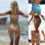 Sexy Net Bikini Cover-Up