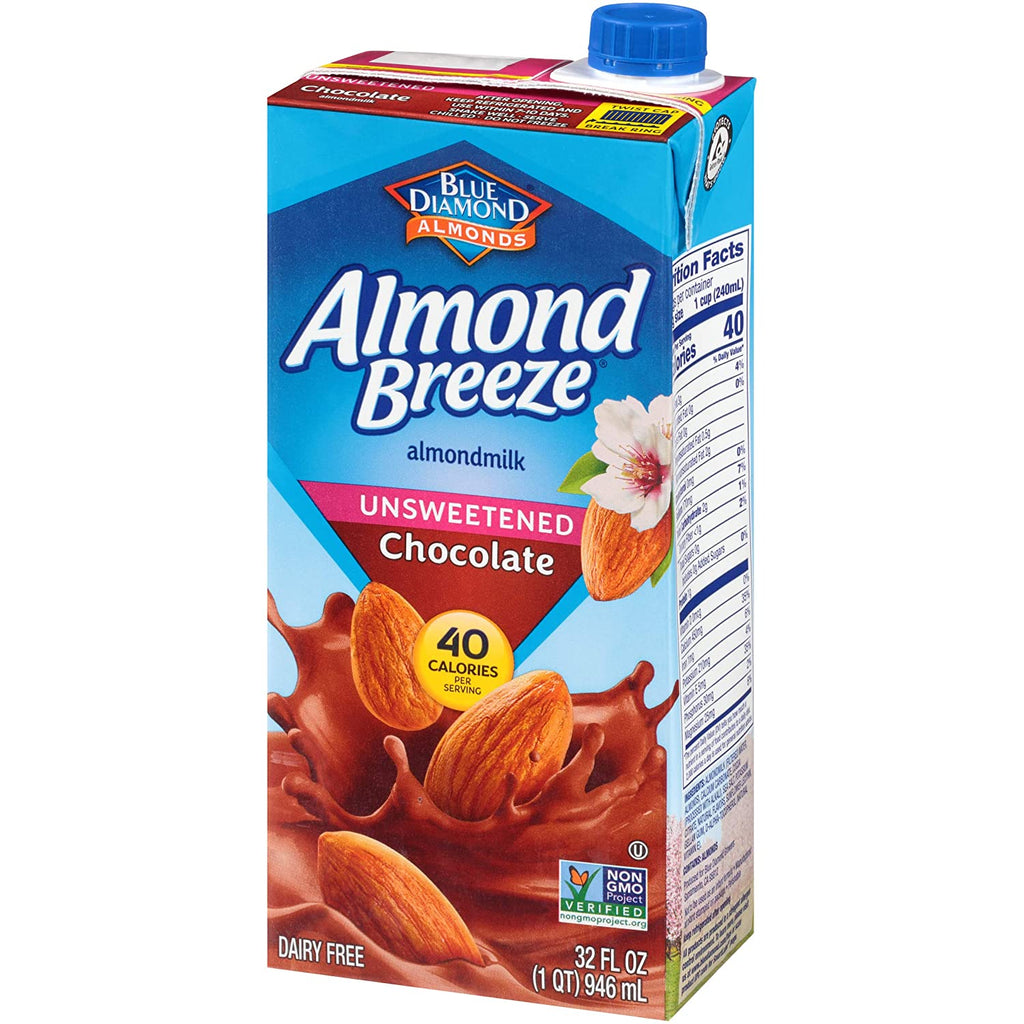 Almond Breeze - Unsweetened Chocolate Almond Milk