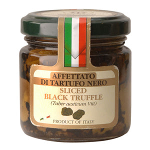 Sliced Black Summer Truffle (180g/jar) Savini
