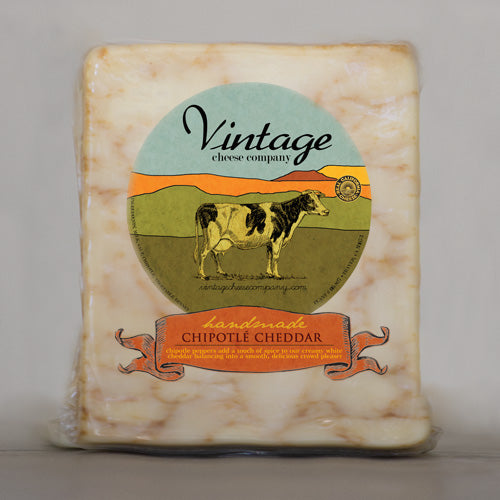 Chipotle Cheddar - Vintage Cheese Co.