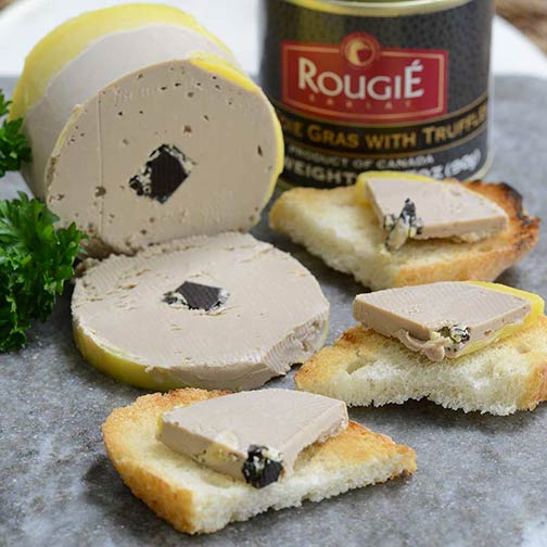 Foie Gras with Truffle - Rougie (90g/tin)