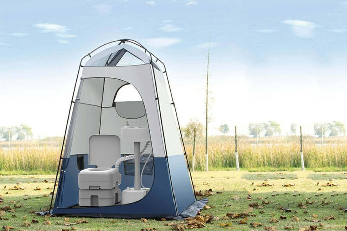 The Best Privacy Tent and Portable Toilet for Camping