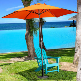 TidoHome Patio Umbrella, Outdoor Umbrella (9 Feet)