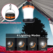 Load image into Gallery viewer, Solar Lantern, Outdoor Camping Solar Powered Lantern, Portable 4 Modes Emergency LED Lights for Camping Hiking Fishing Outdoor & Home - Tido Home