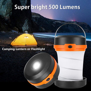 Solar Lantern, Outdoor Camping Solar Powered Lantern, Portable 4 Modes Emergency LED Lights for Camping Hiking Fishing Outdoor & Home - Tido Home