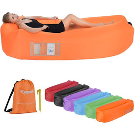 Inflatable Couch, Portable Water Proof Air Couch for Backyard Lakeside Beach Traveling Camping Picnics & Music Festivals Camping Compression Sacks - Tido Home