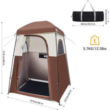 Load image into Gallery viewer, Pop Up Privacy Tent – Shower Tent, Camping Shower Tent, Privacy Tent, Toilet Tent - Tido Home