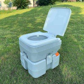 Portable Camping Toilet Outdoor Travel Toilet with Level Indicator - Tido Home