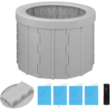 Load image into Gallery viewer, Portable Camping Toilet, Travel Potty Car Toilet, Portable Toilet for Camping - Tido Home