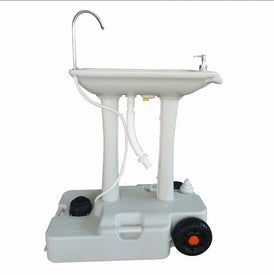 Tido Home Upgraded Portable Sink and Toilet Combo, Hand Washing Station & Portable Potty, Perfect for Camping/RV/Boat/Road Tripper/Camper- New Model